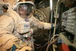 Cosmonaut space training