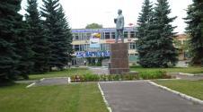 Eingang zum Luftwaffenstützpunkt sokol