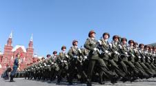 Militärparade am Roten Platz