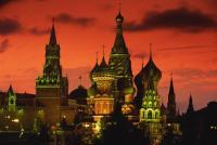 Der Rote Platz, Moskau Stadtrundfahrt bei Nacht