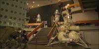Exposition im Weltraummuseum, Russland