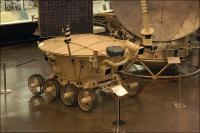 Lunochod im Ziolkowski Museum der Geschichte der Raumfahrt