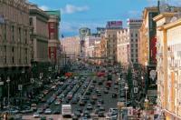 Twerskaja Straße, Moskau Stadtrundfahrt