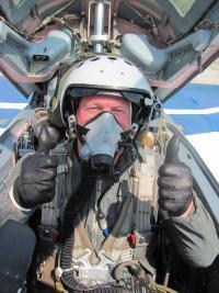 Flight in MiG-29