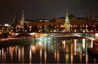 Kreml bei Nacht, Moskau Stadtrundfahrt