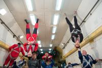 Tourists having fun in Zero Gravity