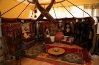 Kazakh Yurta in Museum of Baikonur City