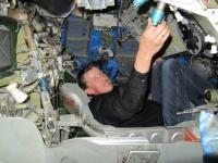 Im Raumschiffkapsel