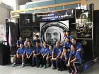 Photo near Gagarin's photo