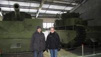 Im Kubinka Museum, Sowjetische Panzer