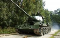 T-34 tank rides