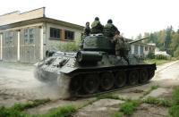 T-34 riding